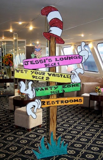 Signs Dr Seuss And Directional Signs On Pinterest