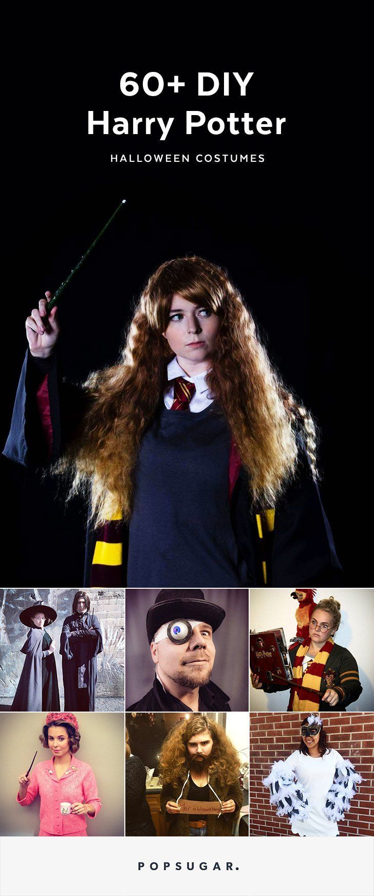 If you're a wizard at heart, these DIY Harry Potter Halloween costumes are sure to tickle your fancy. Check out these looks to get inspired!