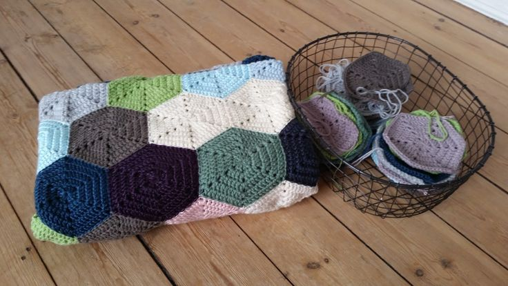 PennyMo: Hexagon-tæppe