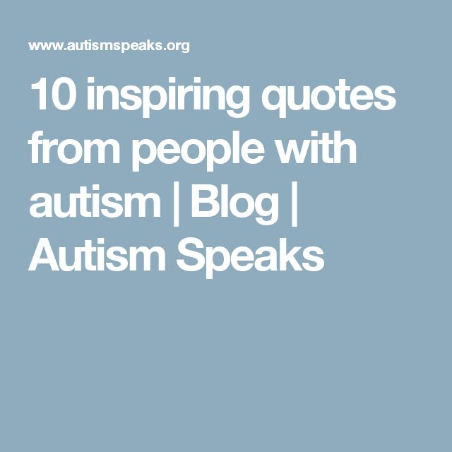 Inspirational Quotes About Positive: 25+ Best Inspirational Autism Quotes On Pinterest