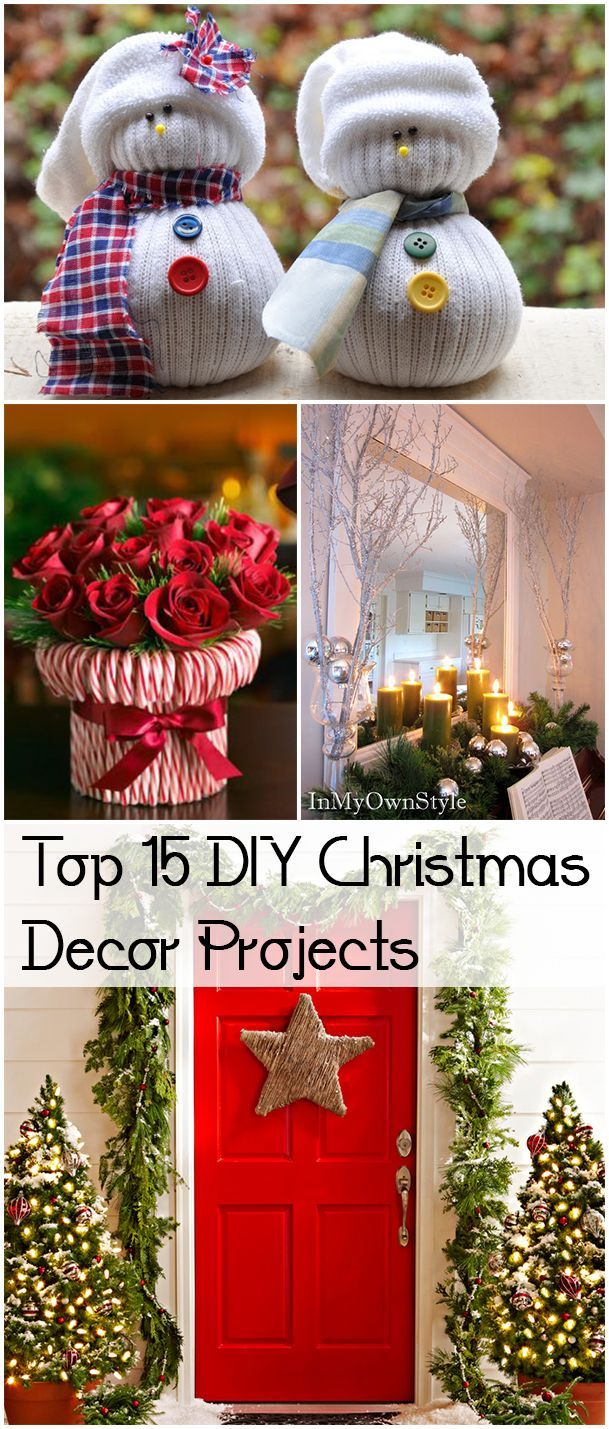 best Christmas at Home images on Pinterest Christmas diy