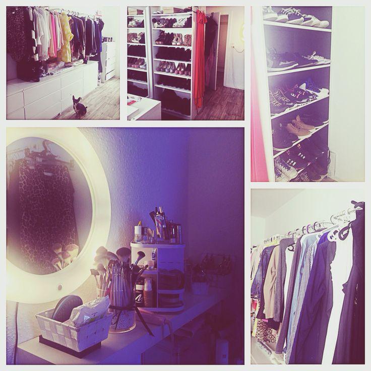 Walk In Closet Begehbarer Kleiderschrank Ikea Malm Billy Lilljorm Lack