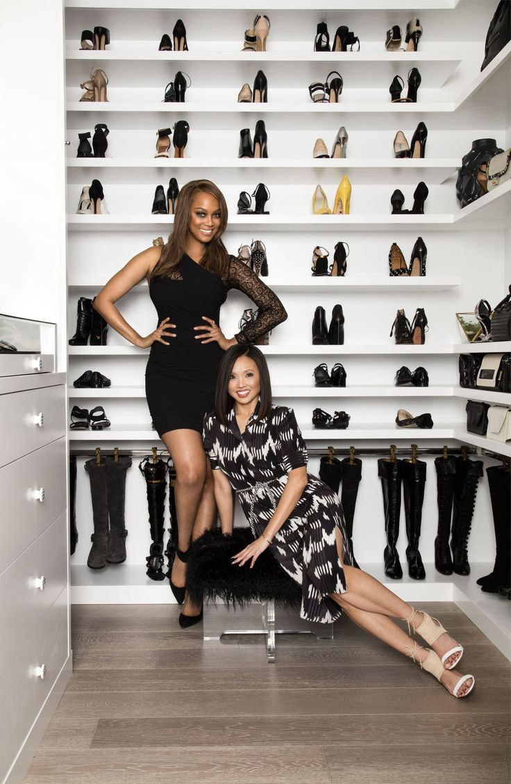 Tyra Banks's Closet Design Is Cooler than Yours