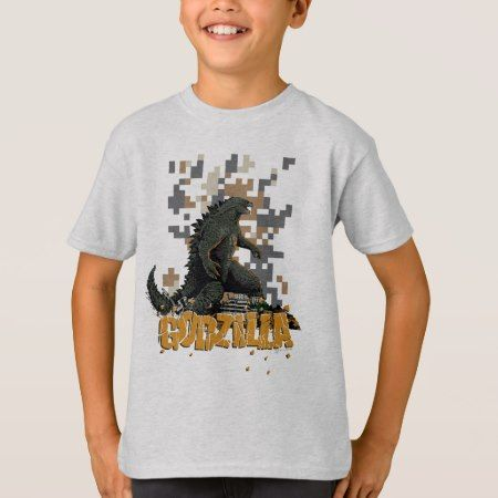 Godzilla 8-Bit Graphic T-Shirt - tap, personalize, buy right now!
