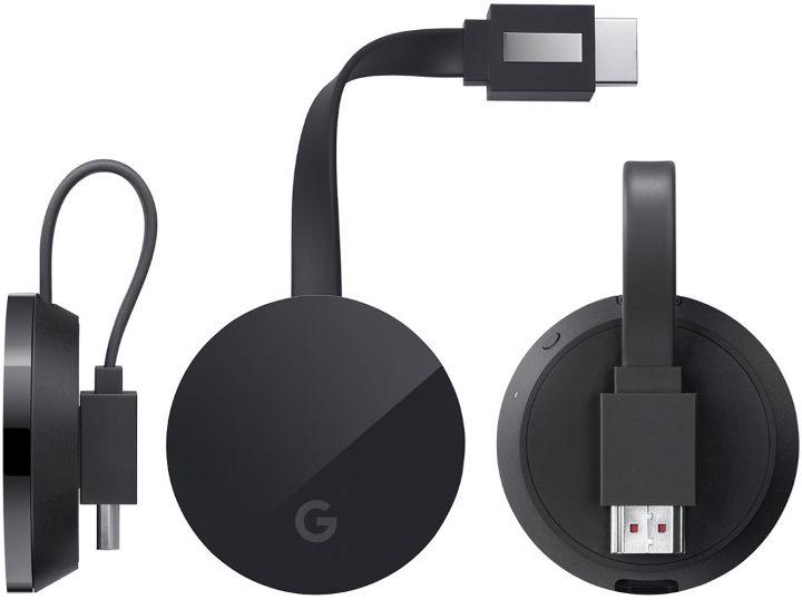 El nuevo Google Chromecast Ultra ofrece soporte para vídeo 4K Ultra HD y HDR a 69 dólares