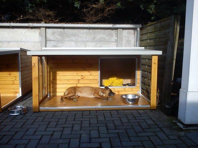 Geïsoleerd Hondenhok - Model ZARA 4 te Koop Aangeboden op Tweedehands.net