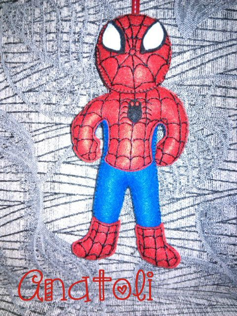 felt spiderman!!!!!!!!!!