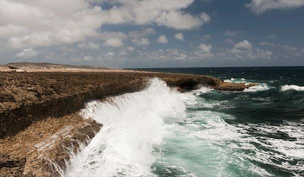 Boca Tabla, Curacao --- caves
