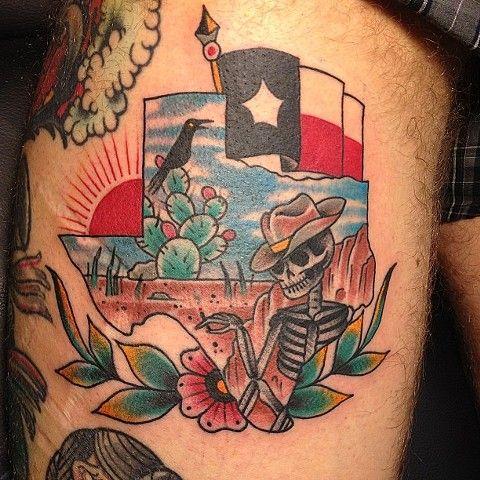 theme is cool | Tattoos I like | Texas tattoos, Tattoos ...