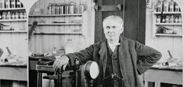 بحث عن توماس اديسون جاهز للطباعة Historical Figures Historical