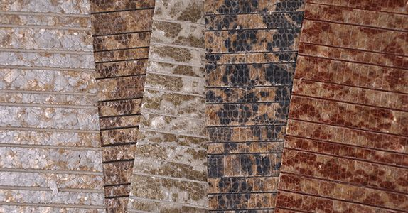 Innovations Wallcovering inc. introduces Borneo wallcovering at NeoCon 2014.