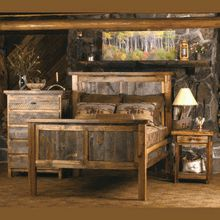 We Proudly Offer This Wyoming Reclaimed Wood Bedroom Set And Other Fine  Rustic American Made Reclaimed Wood Furniture And Décor. Browse Our Rustic  Furniture ...