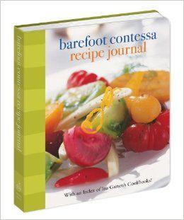 Barefoot Contessa Recipe Journal: With an Index of Ina Garten's Cookbooks: Ina Garten: 9780307716972: Amazon.com: Books