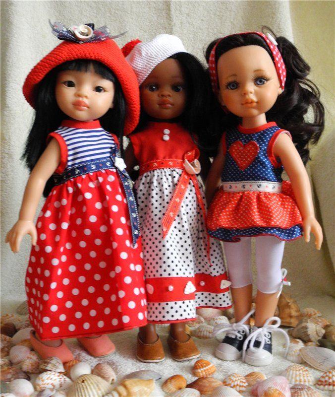 Пора на море или летнее настроение в холодный зимний день. / Одежда и обувь для кукол - своими руками и не только / Бэйбики. Куклы фото. Одежда для кукол