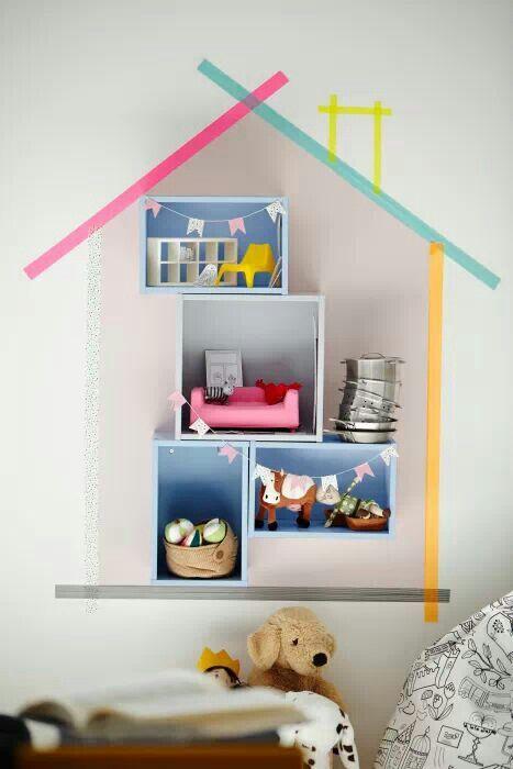 Ikea + whasi tape