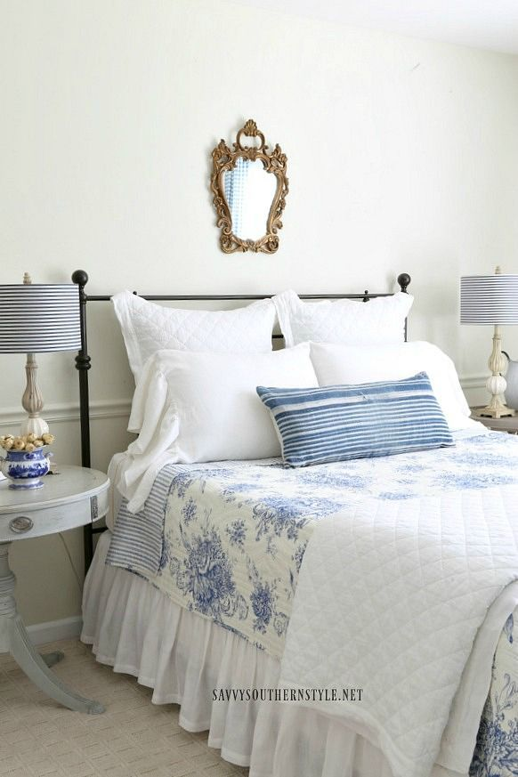25 trending white iron beds ideas on pinterest black - White country style bedroom furniture ...