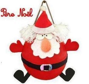 Piñata de Santa Claus