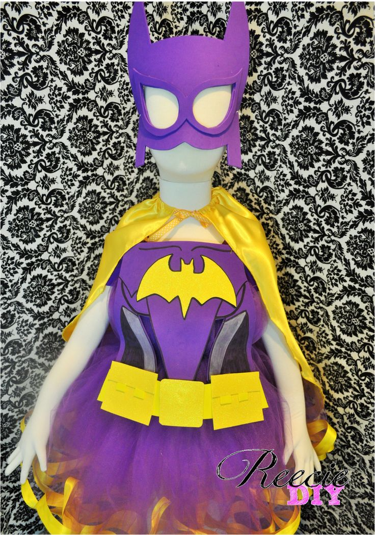 The 25 Best Batgirl Costume Kids Ideas On Pinterest -5448