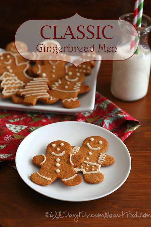 Low Carb Gingerbread Men Cookie Recipe | All Day I Dream About Food