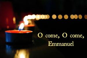 Seeker: O Emmanuel: O God with us