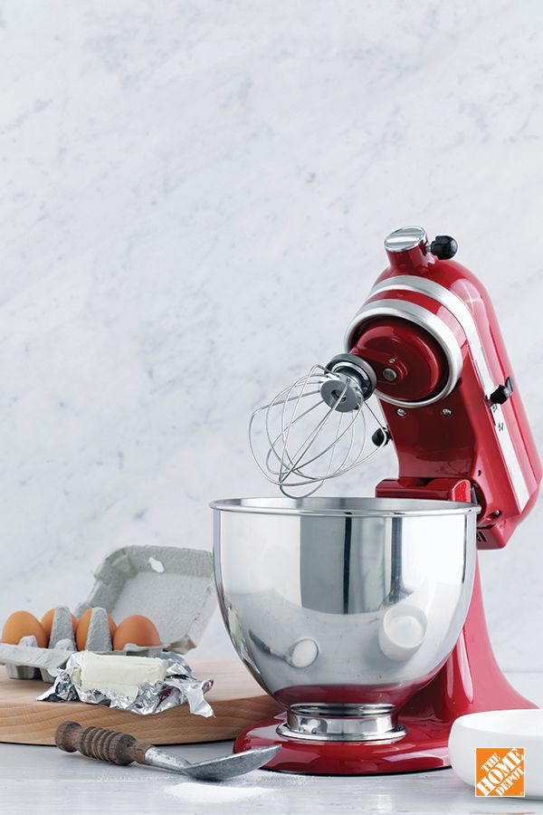 The KitchenAid Stand Mixer with convenient tilting head design makes an iconic, timeless gift for Mother's Day. Shop now at HomeDepot.ca: http://hdepot.ca/2pyfuOf