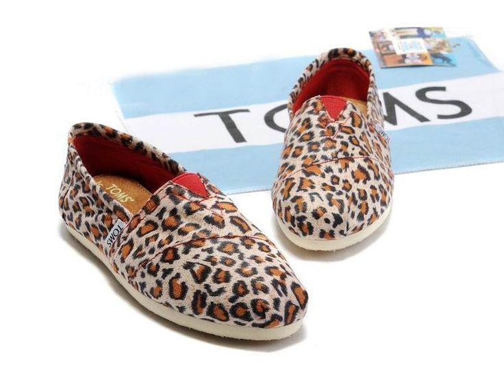 Toms Stitchouts Womens Shoe leopard red    $19.49