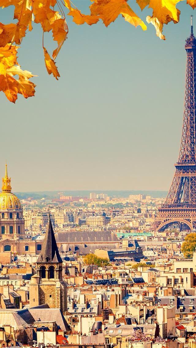 Paris. The Eiffel tower looks huge!