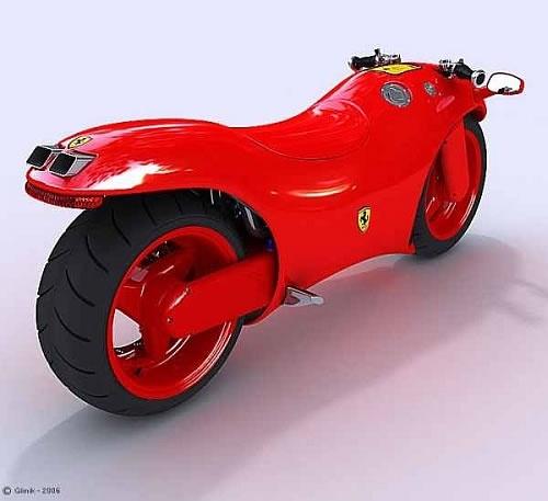 Ferrari Concept Bike Looks Amazing