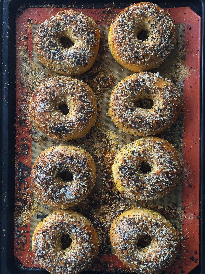An authentic recipe NY bagels that you can make anywhere!