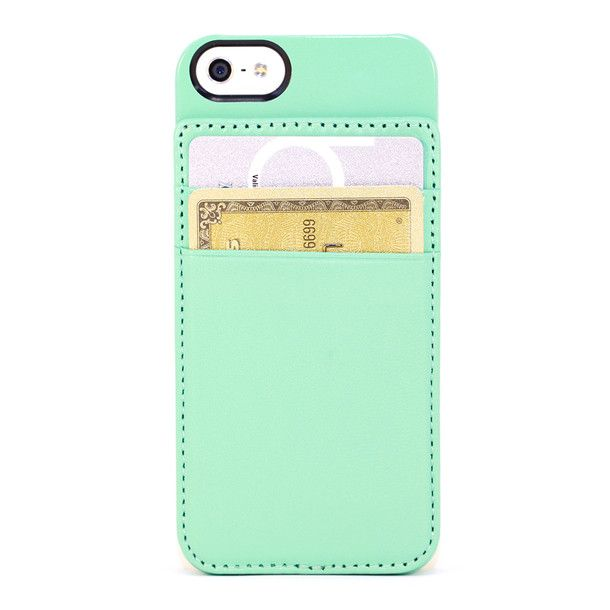 iPhone 5 Credit Card Holder~I don't have a 5 but I still love the color and style!