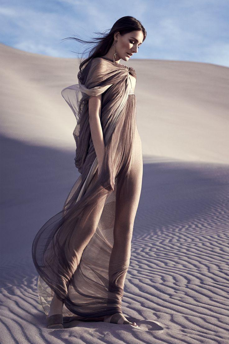 Kookai sand dunes maxi dress