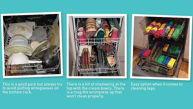 Step by step - how to pack your dishwasher like a boss