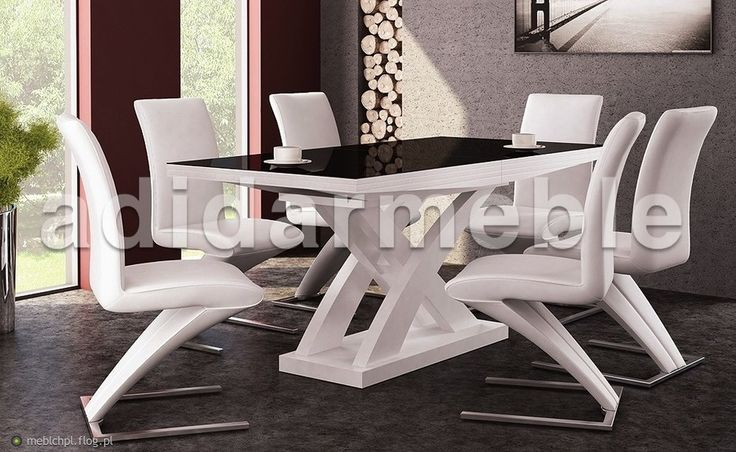 6 krzeseł i stół w wersji prestige