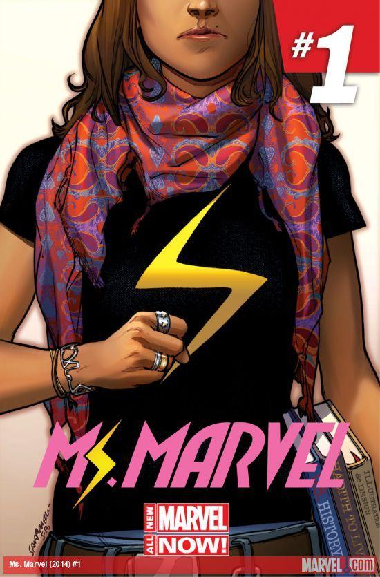 Kamala Khan, nouvelle super-héroïne musulmane de Marvel.