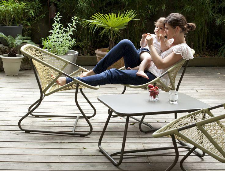 Meubles de jardin Sixties - Fermob photo 5 - Crédit photo : Camille Malissen