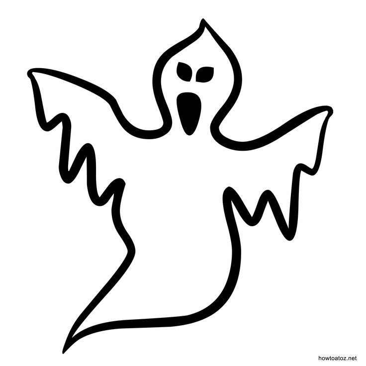 5 best images of free printable halloween stencils free - Halloween Decorations Printable