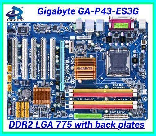 41.81$  Watch here - http://ali3i6.worldwells.pw/go.php?t=32306097414 - Free shipping 100% original desktop motherboard mainboard for Gigabyte GA-P43-ES3G P43-ES3G DDR2 LGA 775 Gigabit Ethernet
