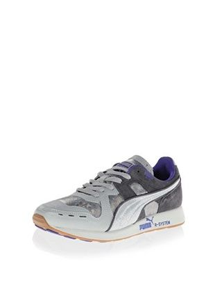 40% OFF PUMA Women's RS100 Opulence Sneaker (Dark Shadow/Aged Silver/Gray Violet)