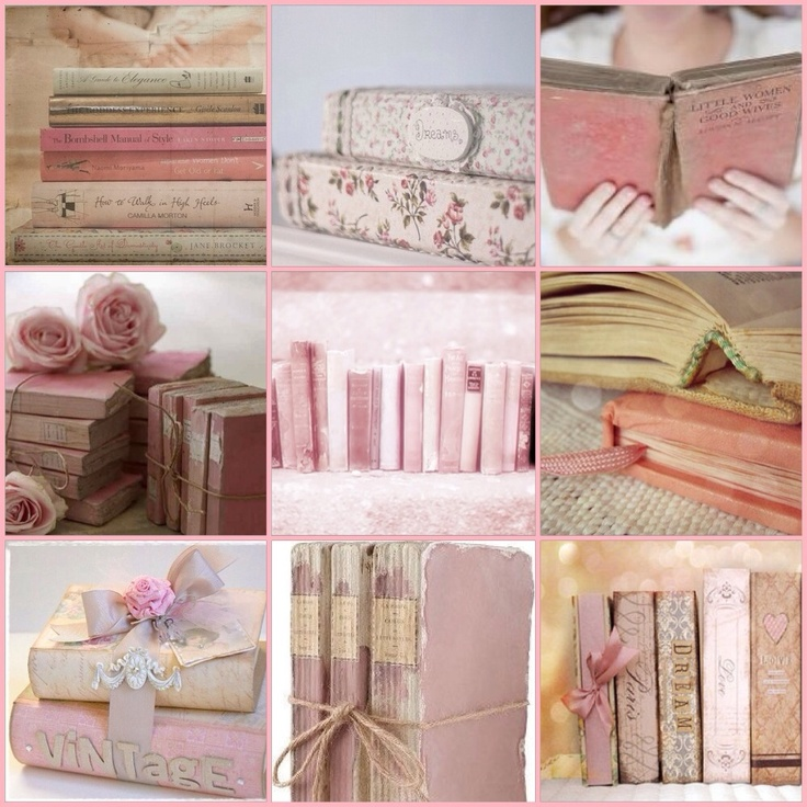 My Creation Pink Book Collage Find This Pin And More On Mood Boards