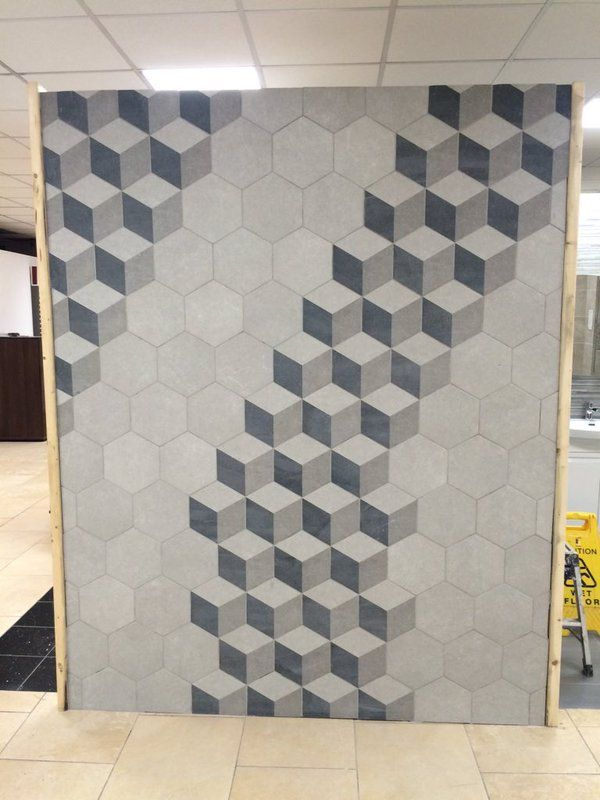 The ideal feature for a foyer floor or even a unique back splash concept, Traffic is ultra modern, ultra stylish and ultra durable thanks to the resilient porcelain material it is made from.  Once implemented these hexagon tiles look impressive and can be used independently or alongside their solid colour counterparts.