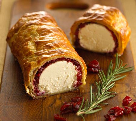 Photo of Baked Goat Cheese Log with Chavrie® Goat Cheese