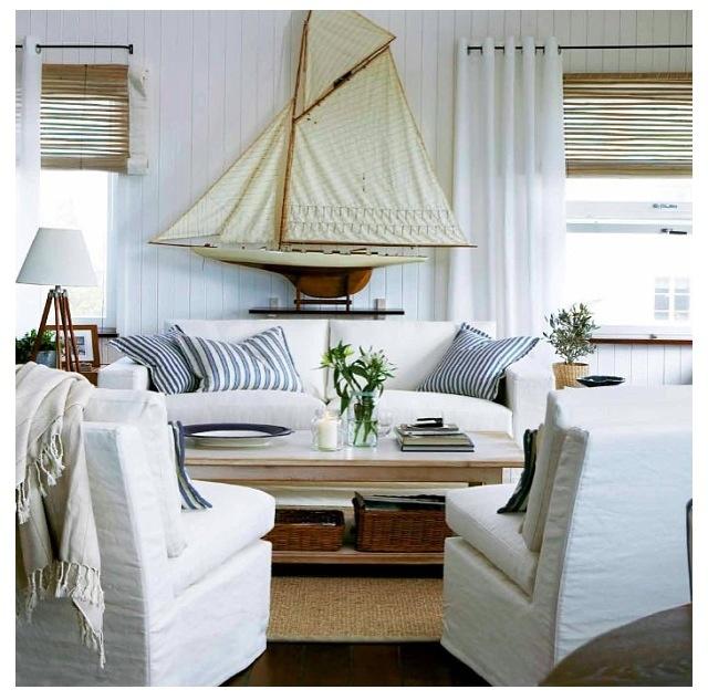 Maritimt Livingroom Pinterest