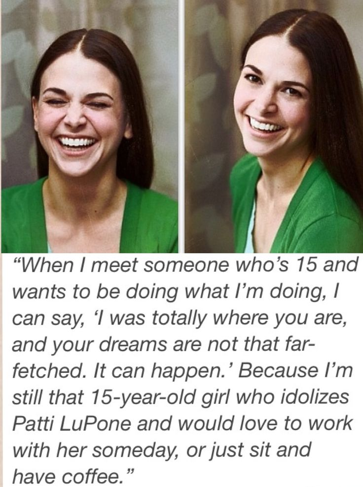 Oh Sutton Foster, we love you! :)