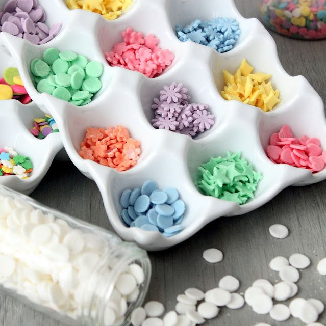 diy sprinkles! how fun! get the tutorial at cherryteacakes.com