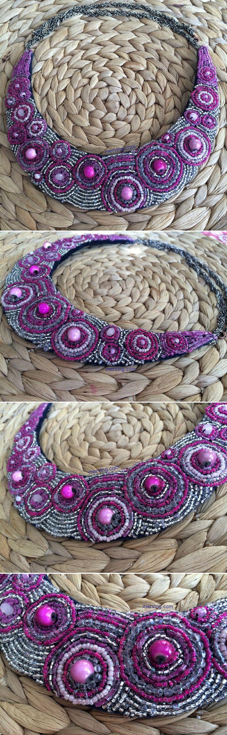 Merving Shop açılıyor...   www.merving.com #necklace #kolye #taslikolye #bignecklace #shop #sale #mervingdesign #mervingcom #mervingshop #like #handmade #diynecklace #blog #blogger #elyapimi #handmade  #fashion #fashionnecklace #fashion #pinknecklace #purple
