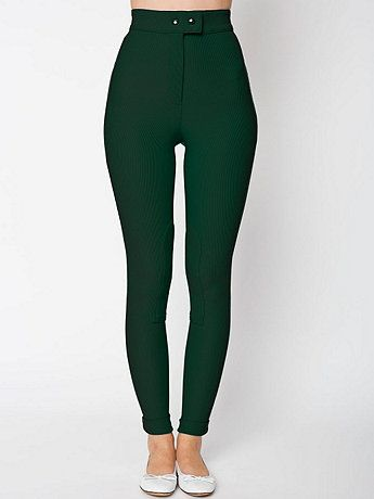 American Apparel - Riding Pant. I'm starting to think I really need a pair. Like right now.
