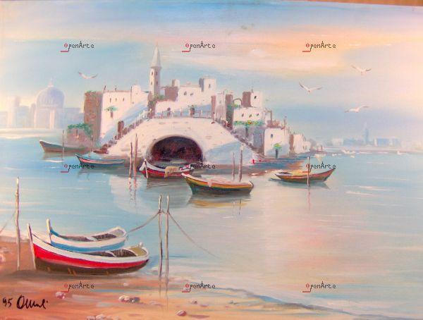 """Antoni Miccoli paesaggio Puglia """" mar ionio"""""""