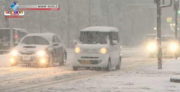 Segundo a JMA, os ventos vão se intensificar, trazendo neve pesada a boa parte do Japão. Veja a previsão.