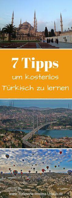 7 kostenlose Hilfsmittel um schneller die Türkische Sprache zu lernen findest du jetzt auf meinem Blog >> http://www.tuerkische-riviera-urlaub.de/tuerkische-sprache-lernen/