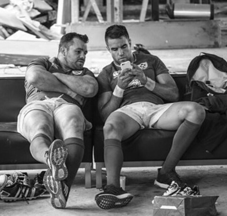 Cian Healy and Conor Murray, Ireland Rugby